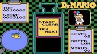 Classic NES Series: Dr  Mario (Game Boy Advance, 2004, USA) Demo