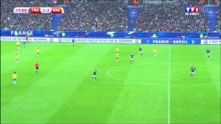 L'entrer de Fekir sous les sifflets du stade de France