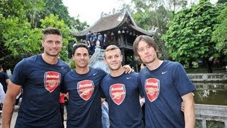 Arsenal Asia Tour 2013: Activities in Vietnam