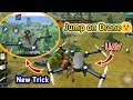 How to Jump on Drone/UAV in free fire | free fire 3 new tricks | Free fire tips and tricks