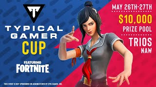 TYPICAL GAMER CUP *FINAL* ROUND! (Fortnite)