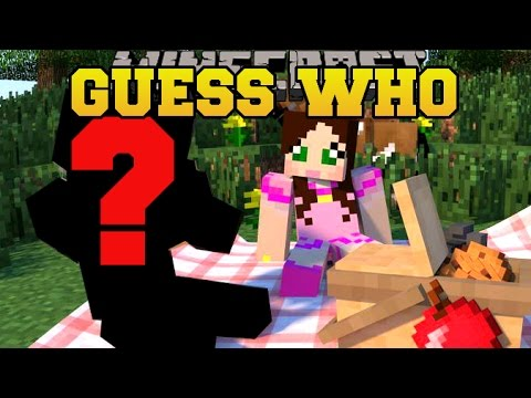 Minecraft: GUESS WHO! (CAN YOU GET IT RIGHT?!) Mini-Game