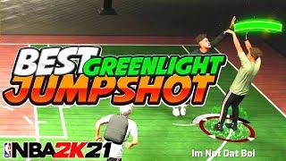 The NEW BEST GREENLIGHT JUMPSHOT on NBA 2K21