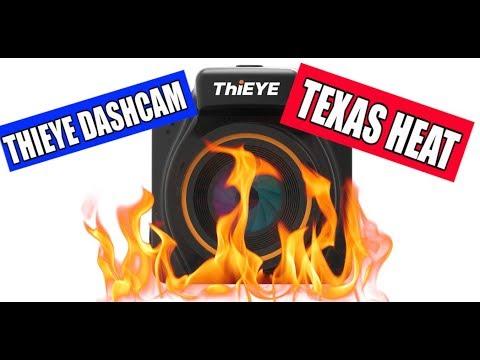 ThiEYE Dash Cam Update, Did It Survive The Texas Heat?