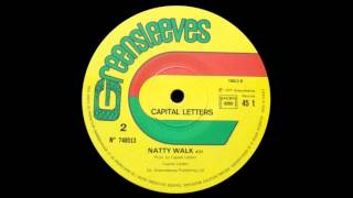 12'' Capital Letter - Natty Walk
