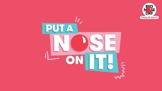 Put A Nose On It! - Official Red Nose Day Schools' Song 2017 | Comic Relief