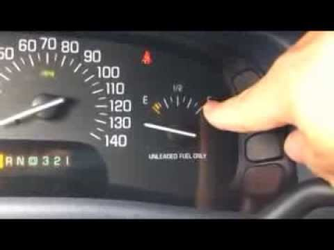 1998 Buick Park Ave Magnet Fuel Gauge Fix - YouTube
