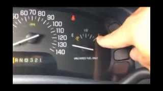 1998 Buick Park Ave Magnet Fuel Gauge Fix