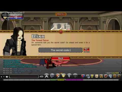 AQW Secret Code (Blixx code) /join DVG