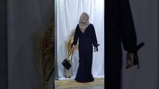 Nictyu Dress - A Navy Dress Muslim Covering Story