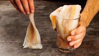 Осторожно Самая вкусная рыба Готовится элементарно а съедается влёт