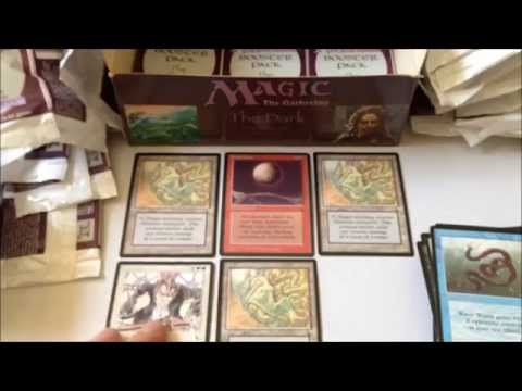 The Dark Booster Box opening! MTG Magic the Gathering