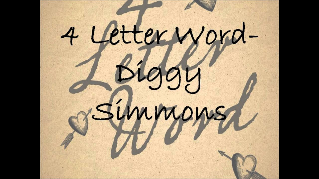 Download Diggy Simmons - Four Letter Word (Audio)