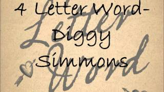 Diggy Simmons - Four Letter Word (Audio)