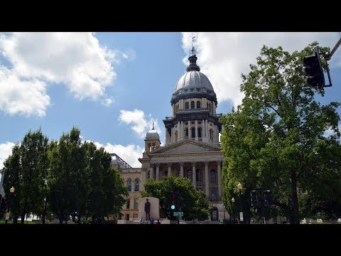Illinois State Capitol Tour in Springfield (HD)