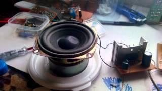 [Điện Tử] Mạch Loa Khuếch Đại Tự Chế Đơn Giản Dùng TDA1516 - Amplifier