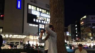 森本菜々「ENDLESS STORY」(伊藤由奈) 2014/09/27 京都 四条通河原町 京...