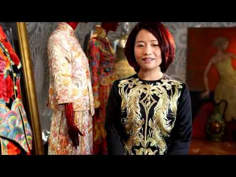 Hello from China's Top Fashion Designer Guo Pei - #DigitalFashionWeek Singapore 2012 Teaser