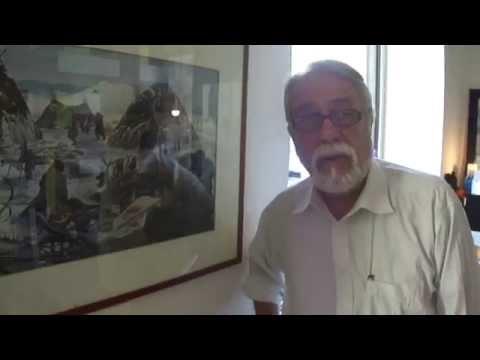 Quadro di Giovanni Caselli - Ricostruzione del Paleolitico in Moravia