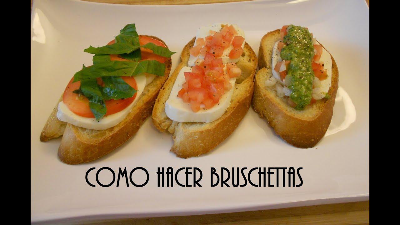 Como hacer bruschettas tradici n italiana youtube - Como cocinar las setas ...