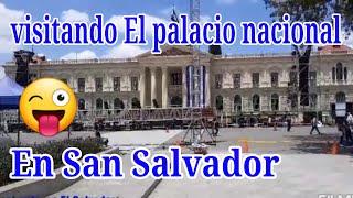San Salvador El palacio nacional 😎