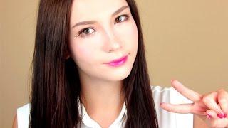 видео Как сделать азиатский макияж для европейских глаз