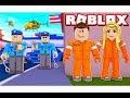 الهروب من السجن  فى لعبة roblox !!