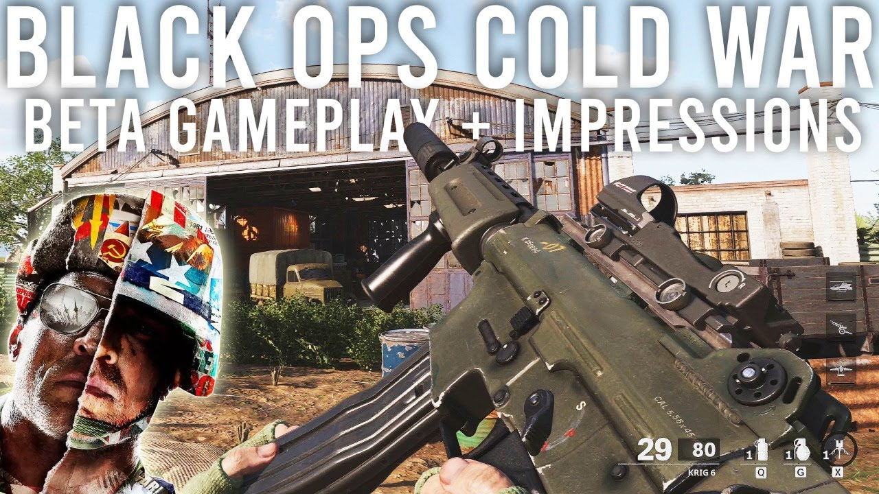 Call of Duty Black Ops Cold War Beta Gameplay and Impressions