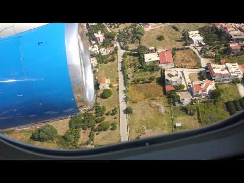 Landing in Rhodes (Greece)