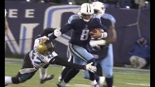 Marcus Mariota stiff-arm vs The Jaguars  w/Mike Keith 2017