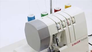 SINGER® 14CG754 Serger Overlock Tour of the Machin...