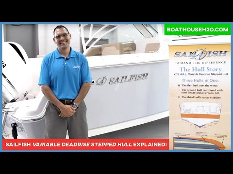 Sailfish Boats: What Is A Variable Degree Stepped VDS Hull Design?