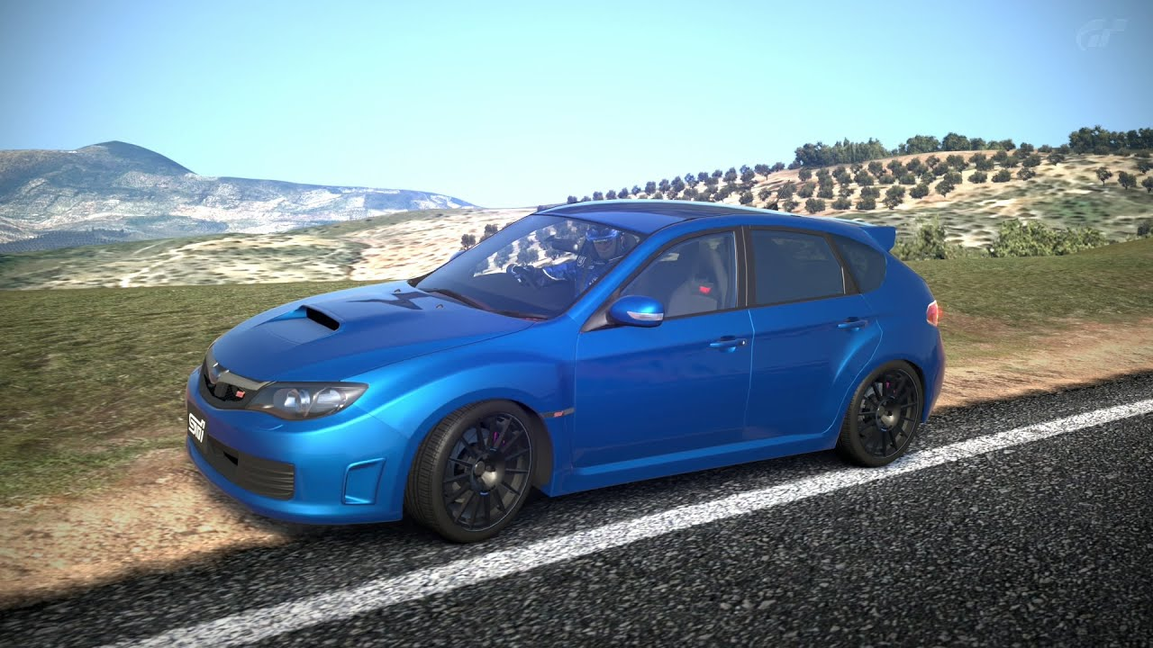 Subaru Impreza Wrx Sti Spec C 09 Test In Nurburg Youtube
