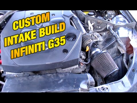 How To Install A Nissan 350z Infiniti G35 Cold Air In