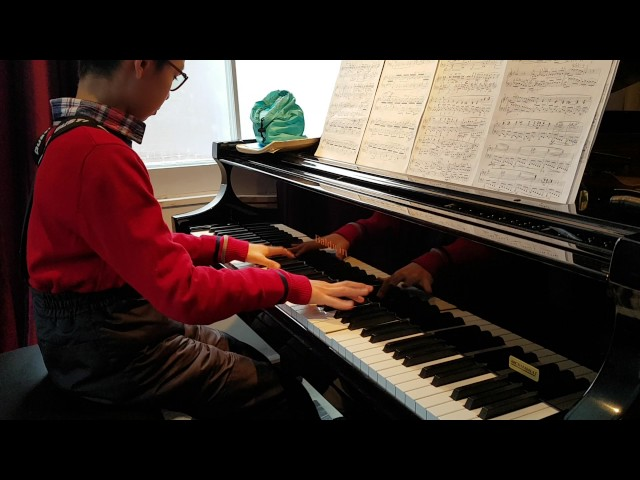 My stundent Moxi | Mon élève Moxi  | Cours de Piano advanced