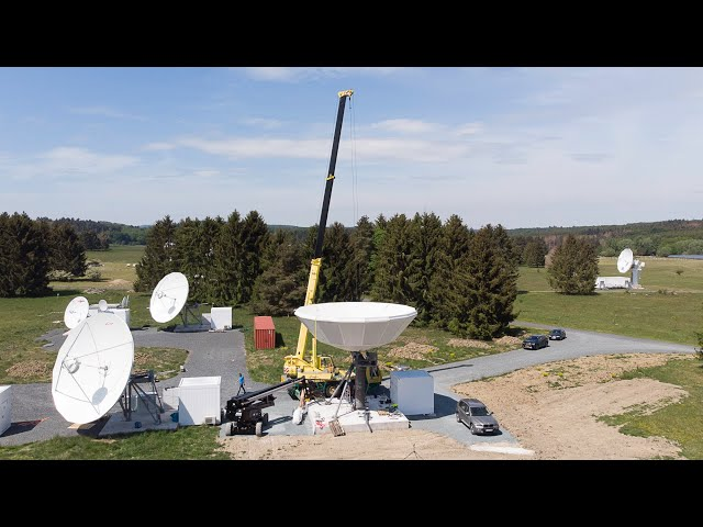 Skybrokers installed a VertexRSI 9.3m antenna in Germany