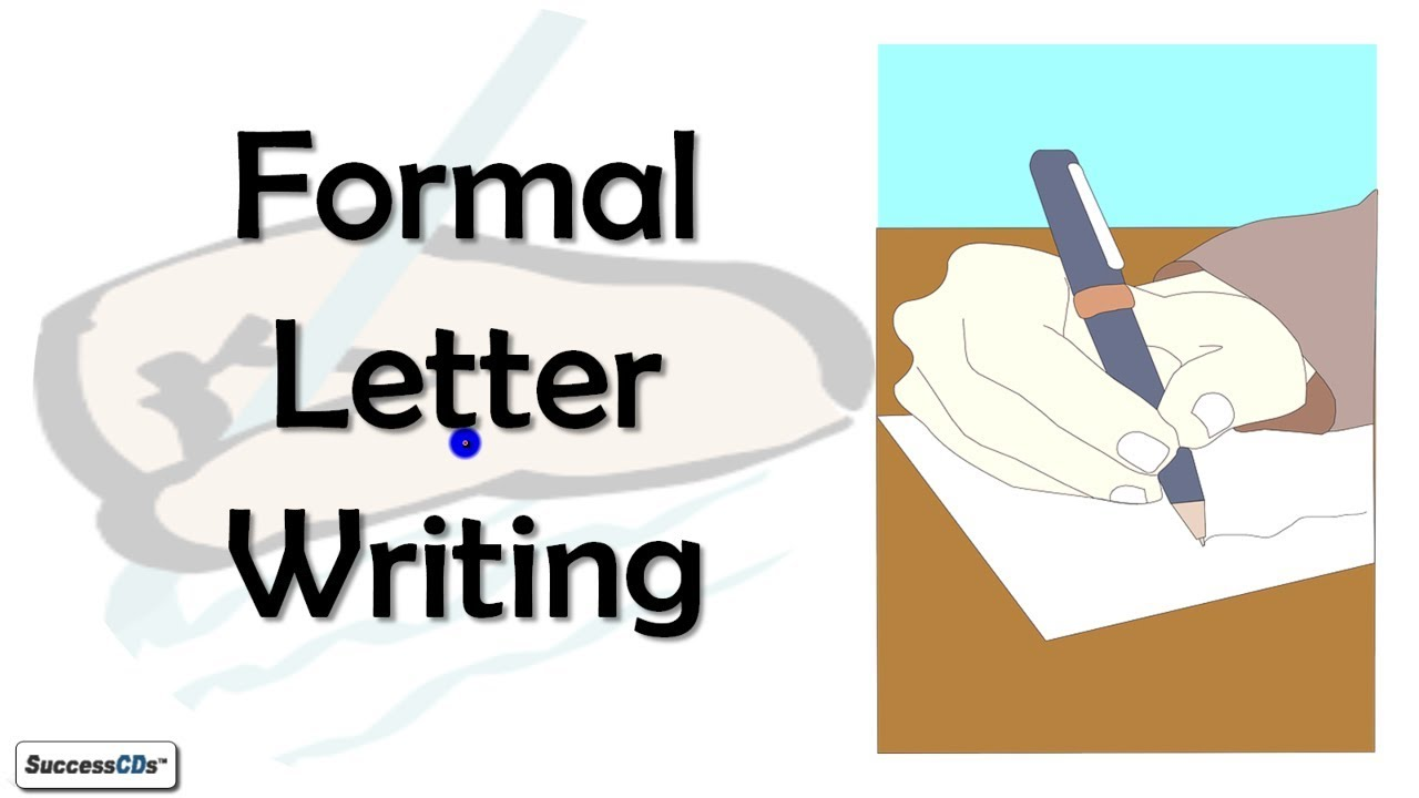 Formal Letter Writing Cbse Icse Class  English Lesson Explained
