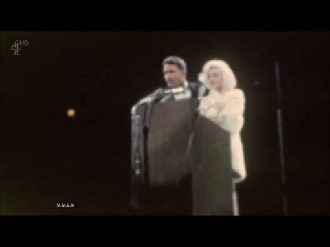 Rare Colour Home Movie Of Marilyn Monroe At President Kennedy Birthday Gala 1962