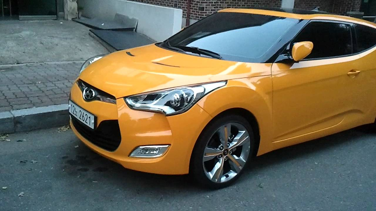 Hyundai Veloster Yellow Youtube