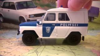 Обзор модели 1/43 УАЗ-469 Полиция Эстонии Deagostini Полицейские машины мира