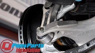 2018 Mustang Steeda Rear Vertical Link Billet Aluminum Pair Installation