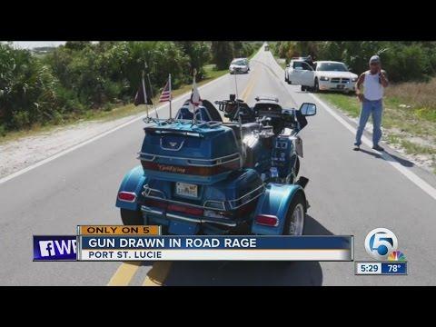Gun drawn in road rage case in Port St. Lucie, Florida