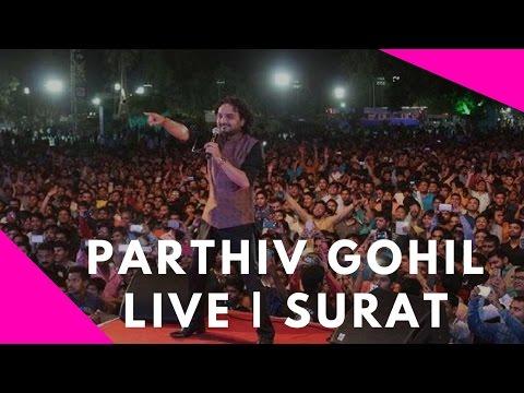 Parthiv Gohil Live from Surat | Gujarat - SRK Complex