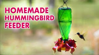How to Make a Hummingbird Feeder
