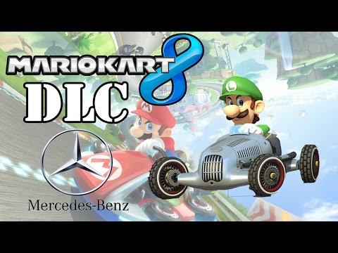 DLC Mercedes-Benz - Mario Kart 8 -  W25 Silver Arrow