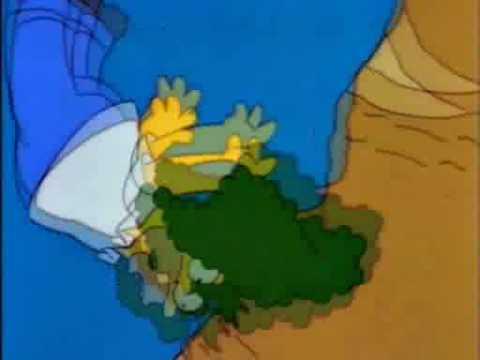 Homero Se cae al precipicio