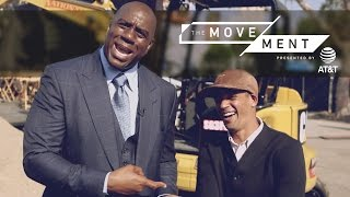 Magic Johnson: Soccer's New HYPE Man