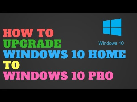 Clean install windows 10 pro over home