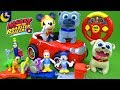 Lots Of Mickey And The Roadster Racers Toys And Puppy Dog Pals Toys Pluto Donald Goofy Bingo Rolly mp3