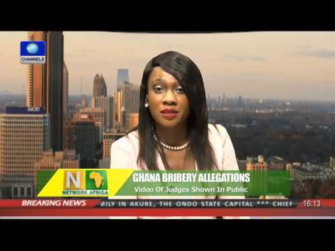 Video Of Bribery Allegations Involving Ghanaian Judges Shown In Public 24/09/15